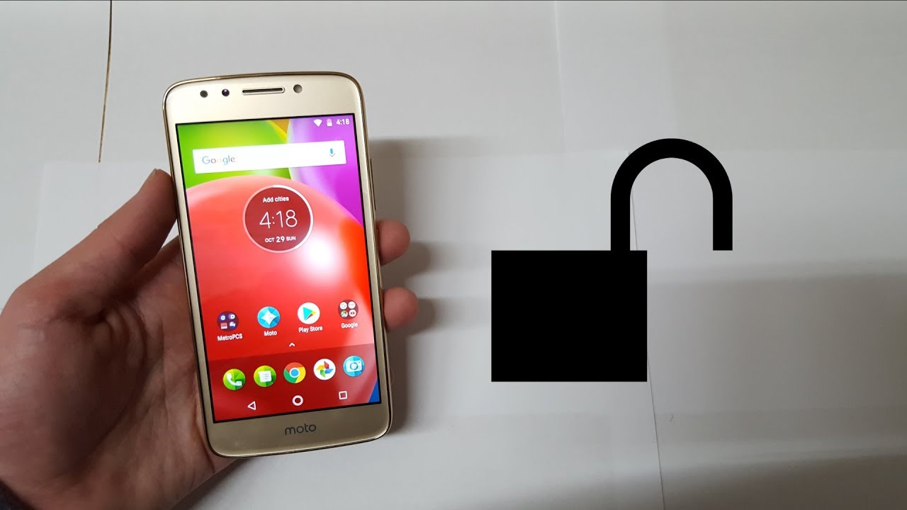 How To Unlock The Moto E4 Safe & Secure!!
