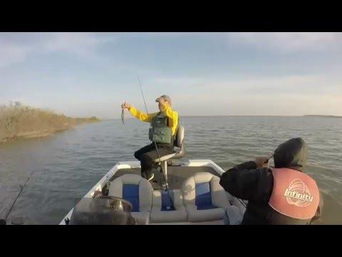 De Pesca en Presa Los Mimbres Vaquerias NL Febrero 2016