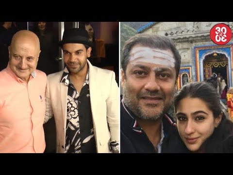 Rajkummar, Anupam Attend Kangana's Simran Screening | Sara's Tantrums Leave Abhishek Annoyed