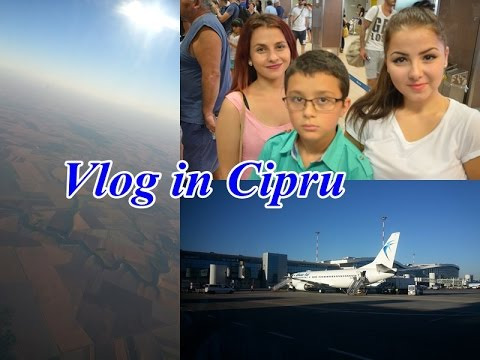 Vlog In Cipru Aeroport Peisaje Camera Mea Piscina Prima