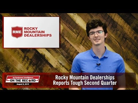 Rocky Mountain Dealerships Reports Tough Second Quarter