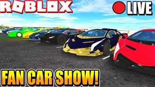 Roblox Vehicle Simulator Weekly Car Show! (Week 3)