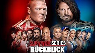 WWE Survivor Series 2017 RÜCKBLICK REVIEW