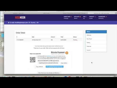 Making My Deposit NEW BTC Site   Like Sierra Hash Lets Profit Day 1
