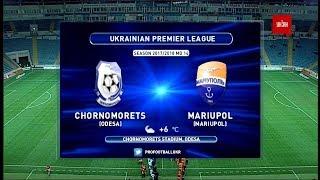 Chernomorets O. vs Illichivets full match