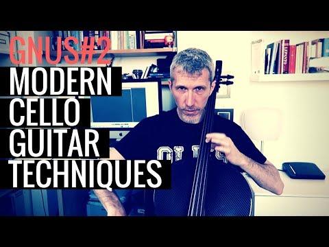 GnuS#2 - Modern cello guitar techniques (sub eng)
