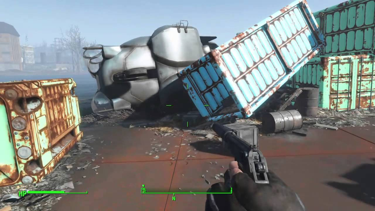Fallout 4 T51 Power Armor Location Youtube