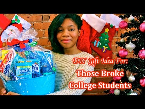 diy gift idea for those broke college students sia blu giveaway closed - Christmas Ideas For College Students