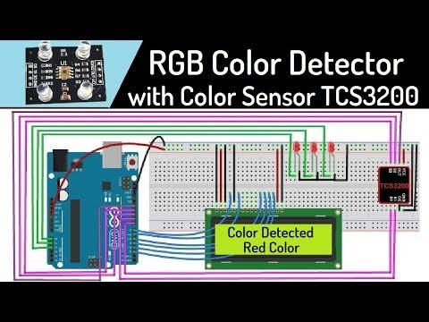 Color Sensor Tutorial - RGB Color Detector Project Using Arduino & TCS3200