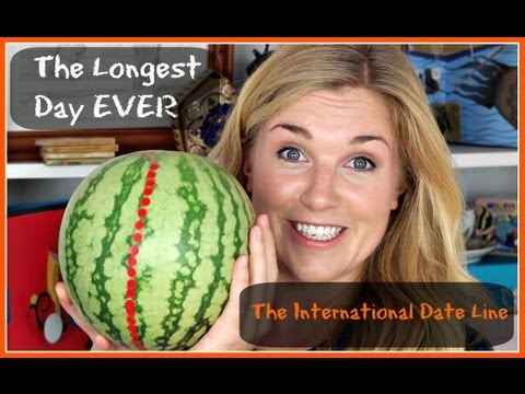 The longest day ever | The international date line