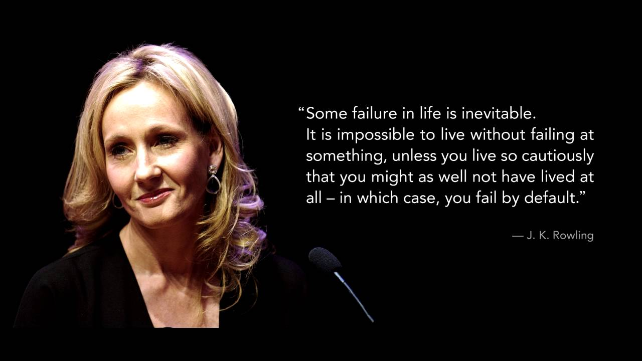 the most inspirational speech by j k rowling