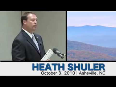 Heath Shuler fo Congress
