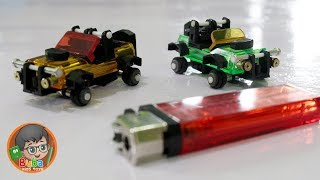 How to Make Mini Jeep Car Toys from unused Lighters – Buba Kids Toys