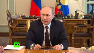 Putin to EU: Pastries on Maidan not enough to save Ukraine