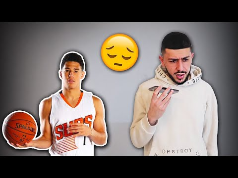 i have bad news... *Devin Booker TEXTED ME ABOUT ACE FAMILY GAME*