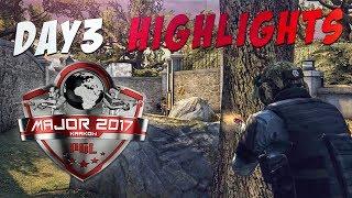 CS:GO - PGL Krakow 2017 Highlights: Day 3