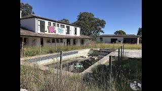 Abandoned Mansion - Trashed with pool, sauna and spa