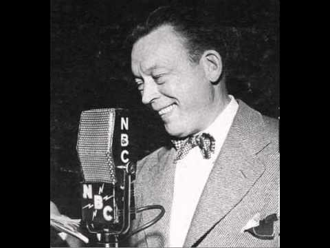Fred Allen radio show 6/8/38 Satire on Song Writers