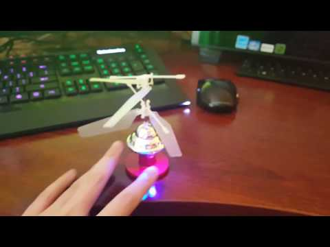 Flying Saucer Hand Controlled UFO First Flight