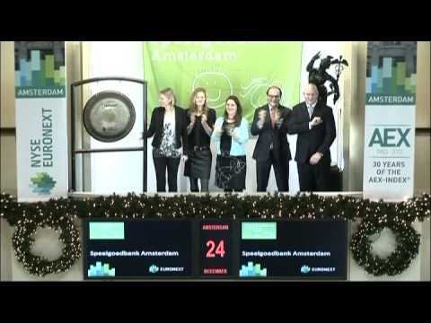 Speelgoedbank Amsterdam celebrates successful year