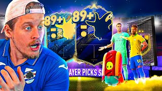 OMG 99 TOTY RONALDO! 10X 89+ DOUBLE UPGRADE PACKS! FIFA 20 Ultimate Team