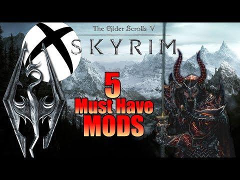 My Top 5 Essential Mods - Skyrim SE (Xbox One) Mod Showcase