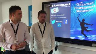 Tom & Jimmy from Barnsley College BePresentable training feedback