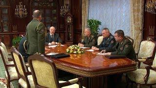 Лукашенко назначил начальника в 72-й учебный центр в Печах и прокомментировал дело Коржича