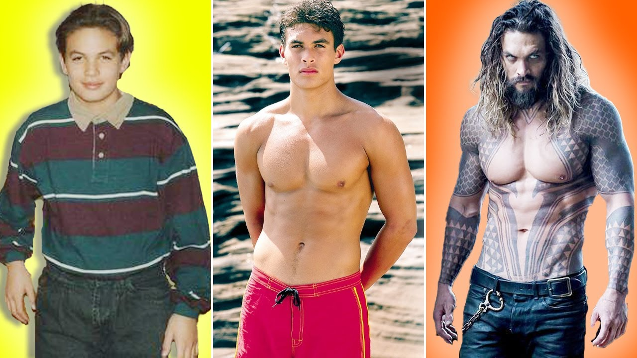 Jason Momoa Transformation ★ 2021   From 03 To 42 Years Old