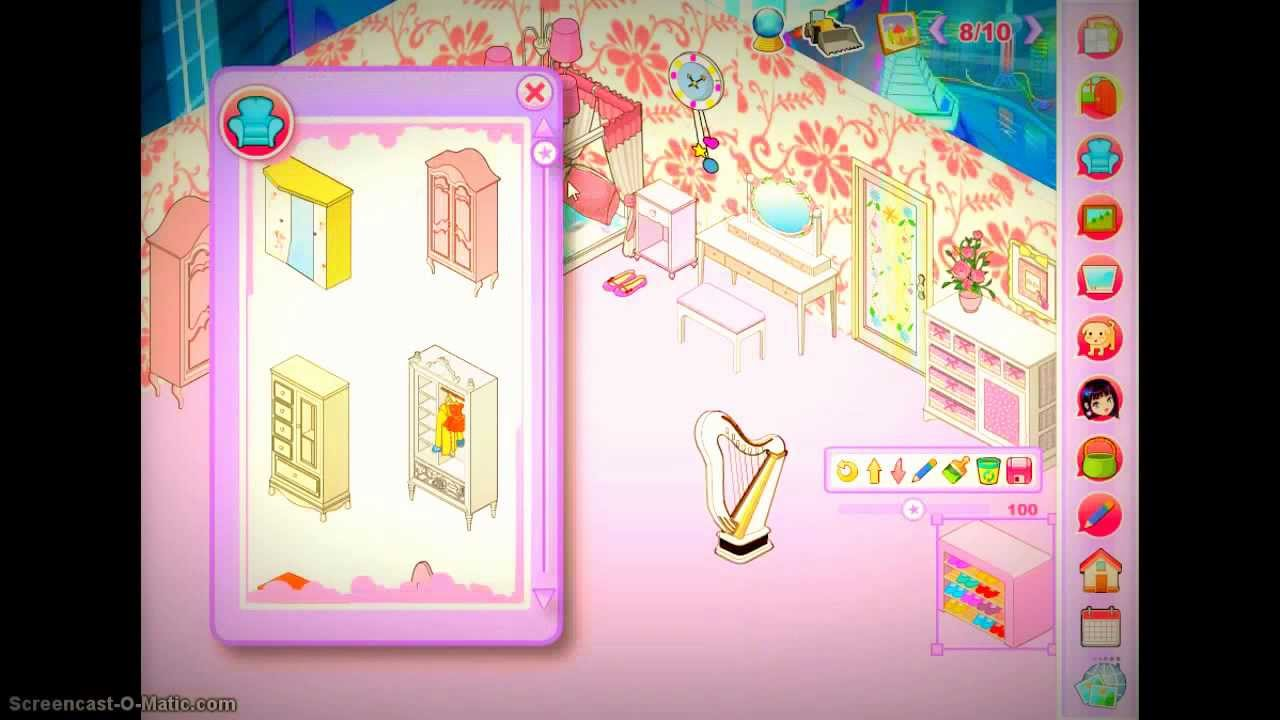 My new room 3 girl 39 s room youtube for My new room 4 decor games