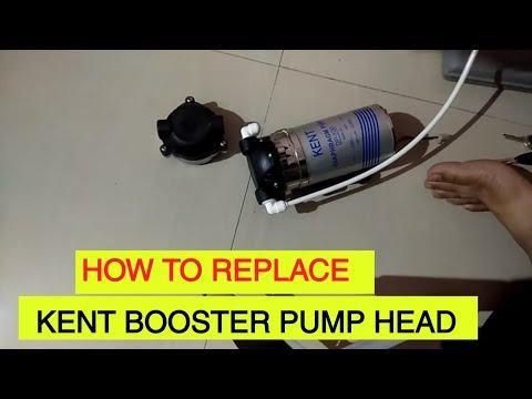 BOOSTER PUMP HEAD REPLACE/REPAIR OF KENT WATER PURIFER