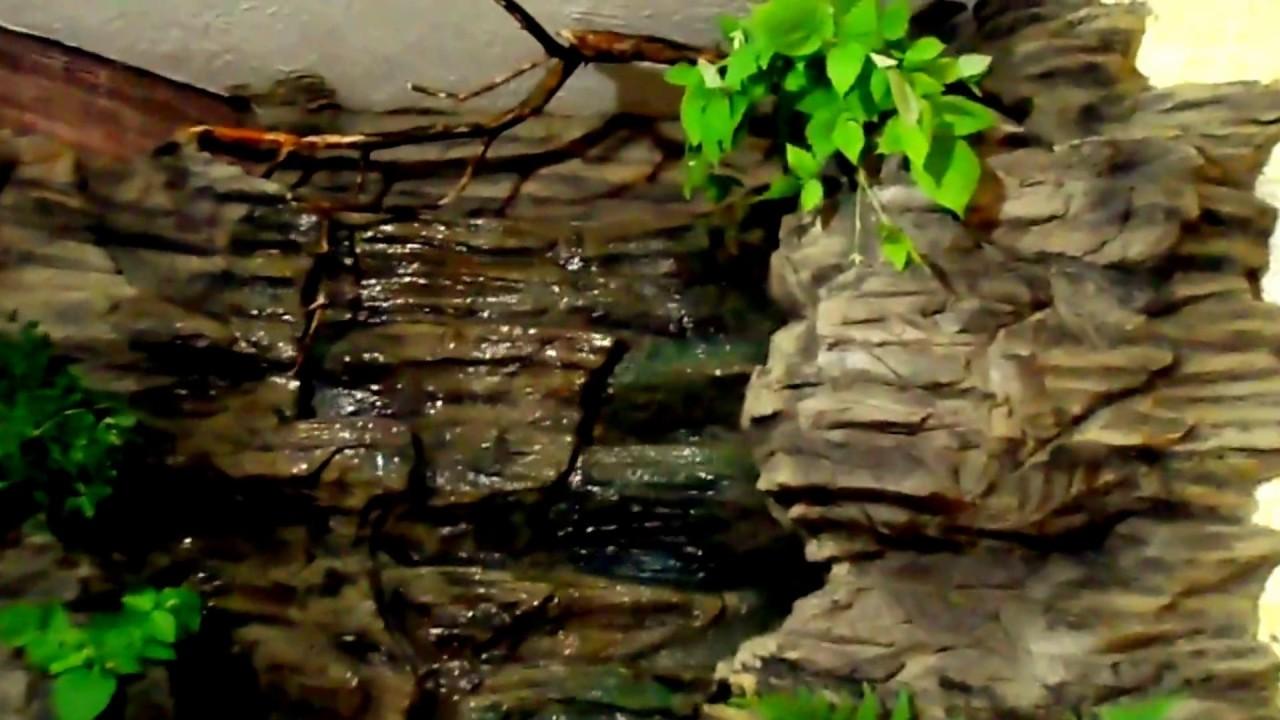 Искусственный водопад в интерьере.Maksim Mascaron. Беларусь