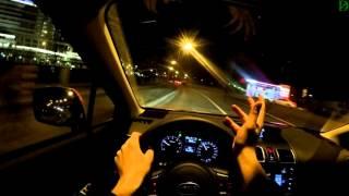 Subaru XV - болтовня в ночном движении (4k, UHD)