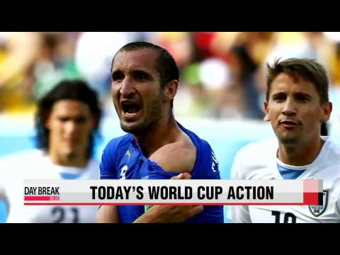Today's World Cup action