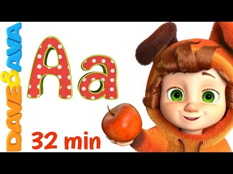 Thumbnail: 🔤 Alphabet Train and more ABC Songs | Alphabet song | Learn ABCs with Dave and Ava 🔤