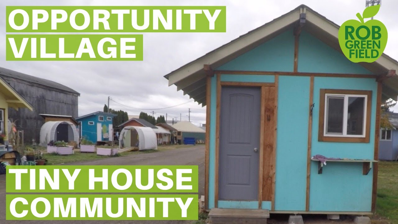 Opportunity Village Tiny House Community For Homeless