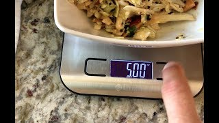 ★★★★★ ⚖Review on Weight Loss Food Scale - Etekcity Digital Kitchen Scale Multifunction Food Scale
