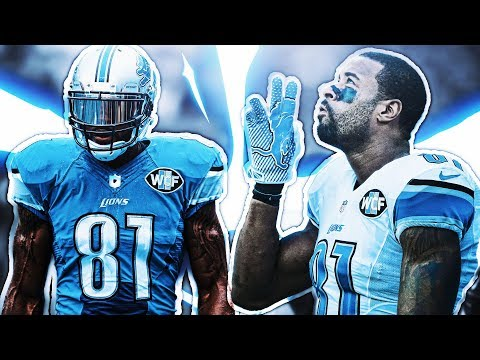 CALVIN JOHNSON INVITED BACK TO THE LIONS TRAINING CAMP!