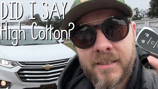 ⚫ NEW 2018 Chevy Traverse High Country - VLOG Review Featuring: 2018 Mazda CX9 GT 🏁  😵