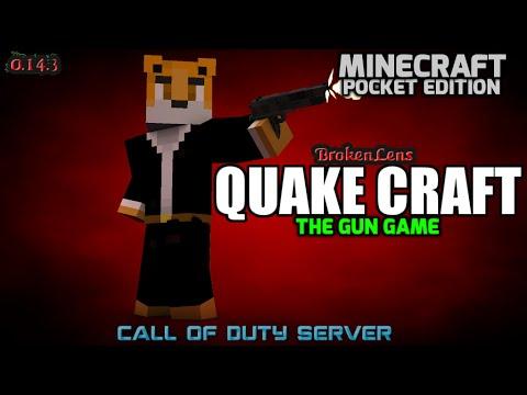 How To Make A Quake Craft Gun In Minecraft