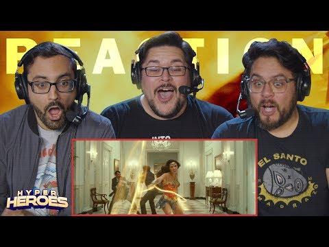 Wonder Woman 1984 - Official Trailer Reaction