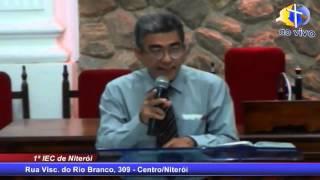 Culto da 1ª IEC de Niterói - Presb. Ivan Michimoto
