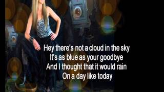 Download lagu Wendy Matthews The Day You Went Away Lyrics HQ MP3