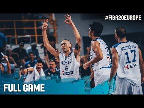 Greece v Lithuania - Full Game - Quarter-Finals - FIBA U20 European Championship 2017