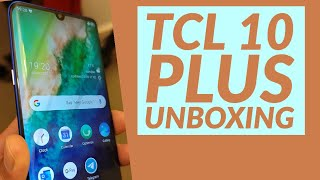 TCL 10 PLUS Unboxing // Stunning AMOLED Display & Slim Body for €300