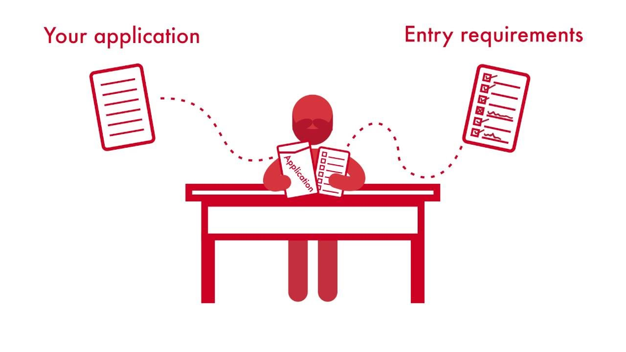 the ucas application process youtube