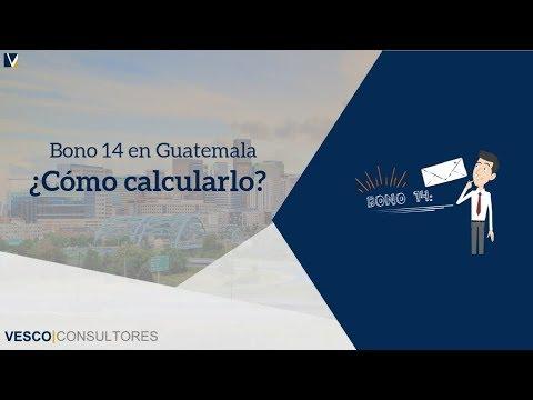 Bono 14 en Guatemala: Que es y como calcularlo - Vesco