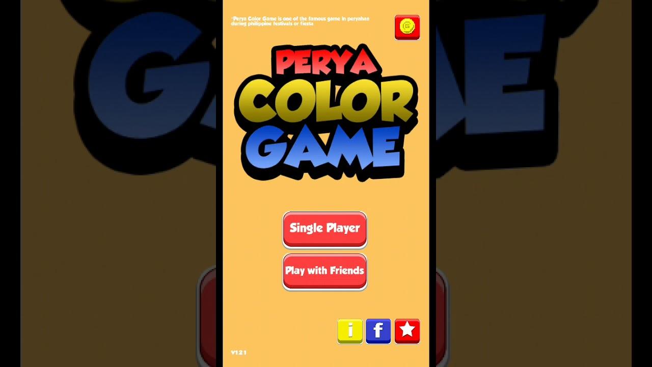 Android Gameplay: Perya Color Game