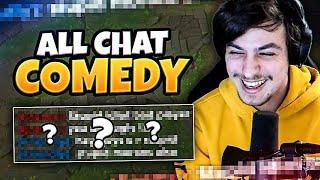LL STYLISH | ALL CHATTING TURNING INTO COMEDY IN LEAGUE
