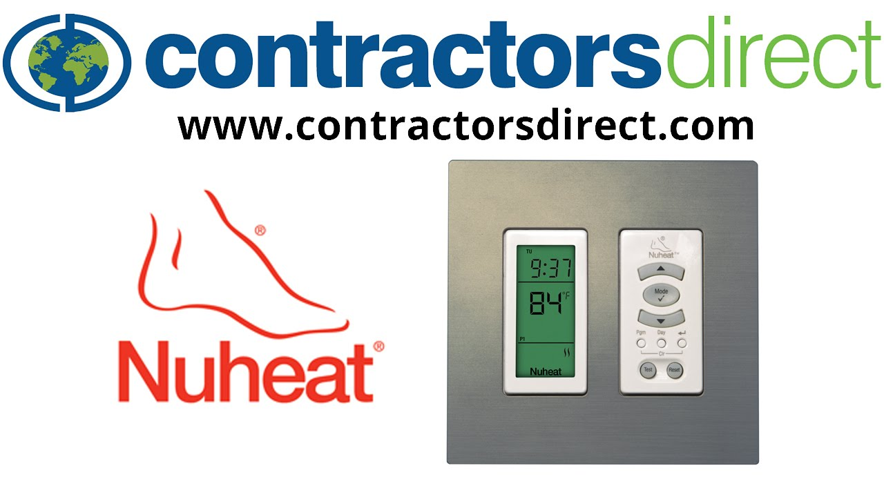 small resolution of nuheat harmony floor heating programmable thermostat 3 modifying the schedule